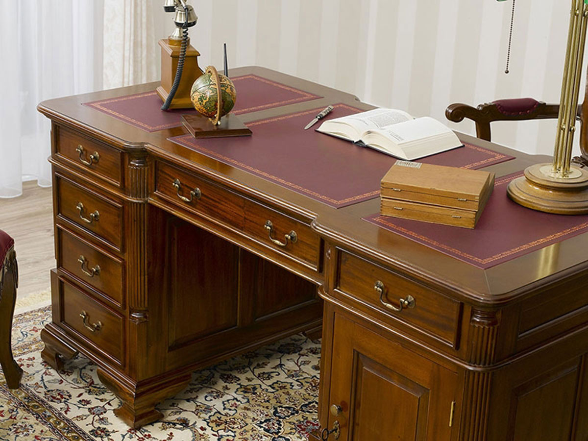 chefschreibtisch victorian englisch stil b ro schreibtisch. Black Bedroom Furniture Sets. Home Design Ideas